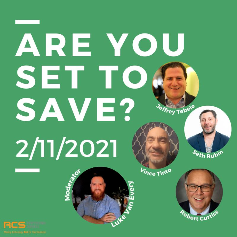 Are you set to Save?